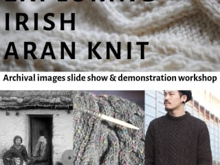 Exploring the Irish Aran Knit