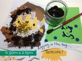Treasures from the Bog: Story-Making Workshop