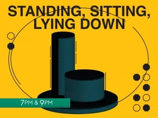 Standing, Sitting, Lying Down Feat. composers Simon Cullen and Michael Gallen
